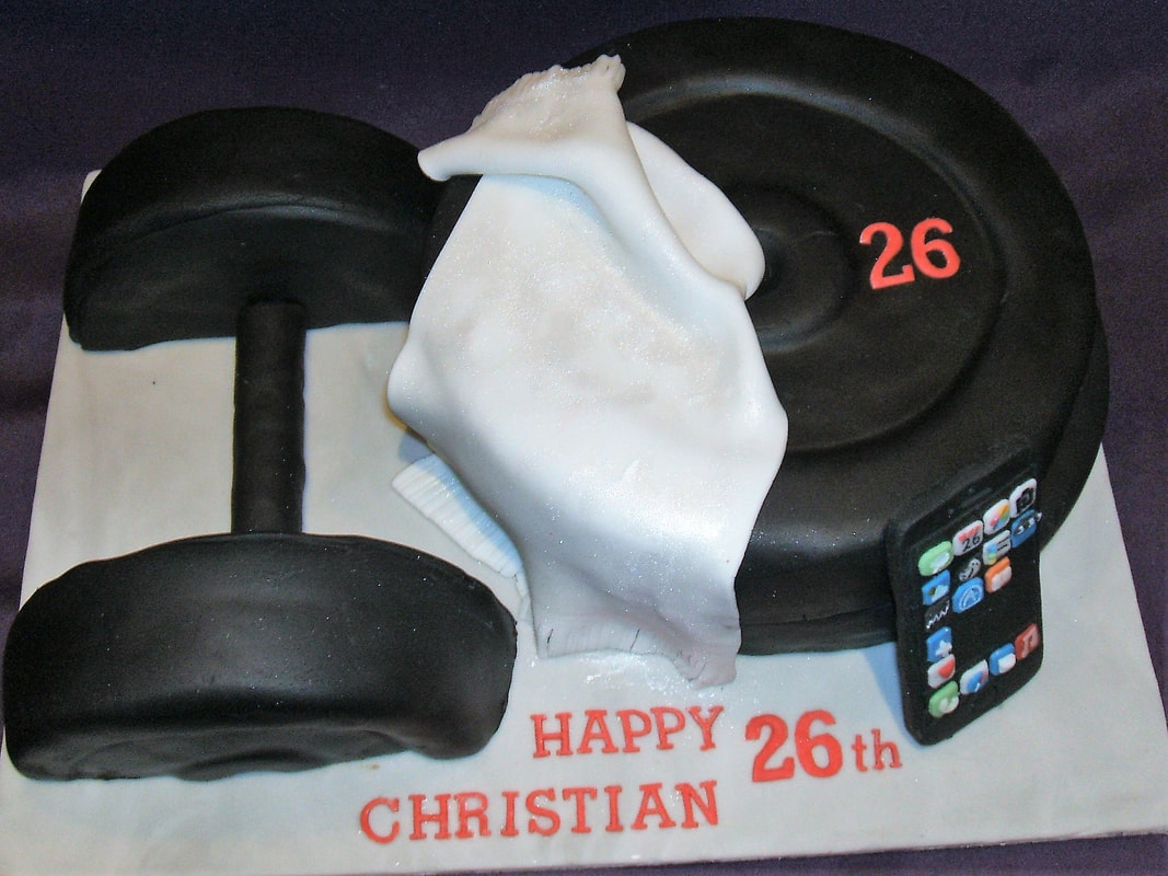21st Rugby Graduation Cake For Robs Birthday